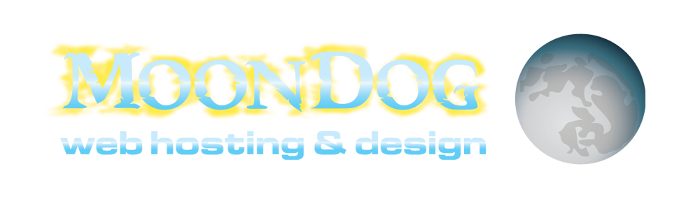 MoonDog Web Hosting and Design, affordable website design and maintenance