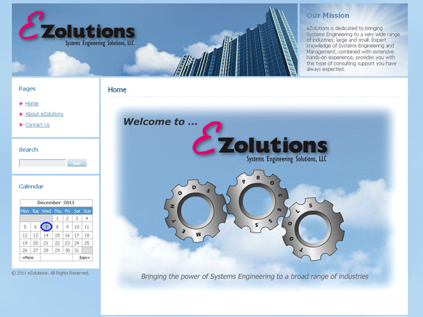 eZolutions Systems Engineering Solutions