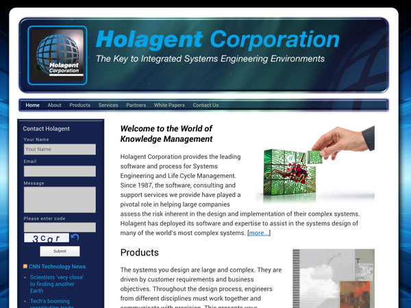 Holagent Website