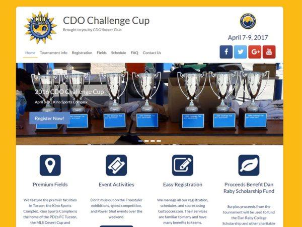 CDO Challenge Cup