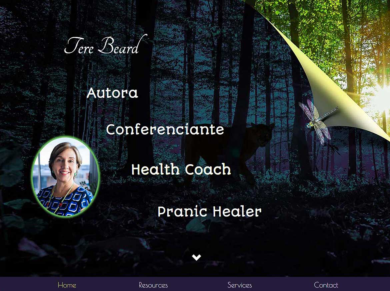 Tere Beard Health Coach MoonDog Web Hosting amp Design